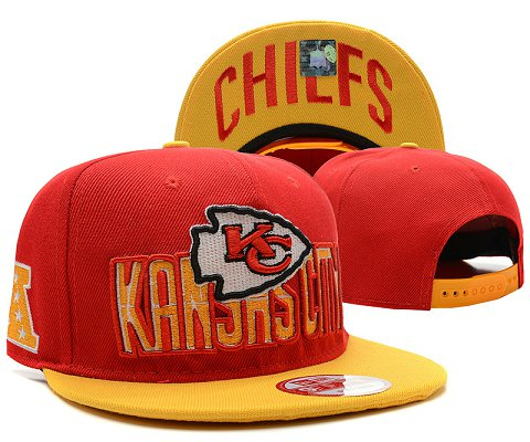 Kansas City Chiefs NFL Snapback Hat SD1